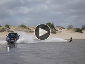 Video: Audi demuestra el poder de su sistema quattro con el Q5 y un esquiador acuático