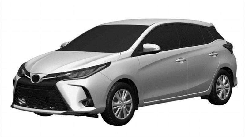 Se filtra un nuevo facelift para el Toyota Yaris vigente