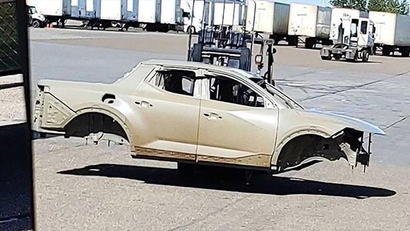 Se filtra la carrocería completa de la nueva Hyundai Santa Cruz