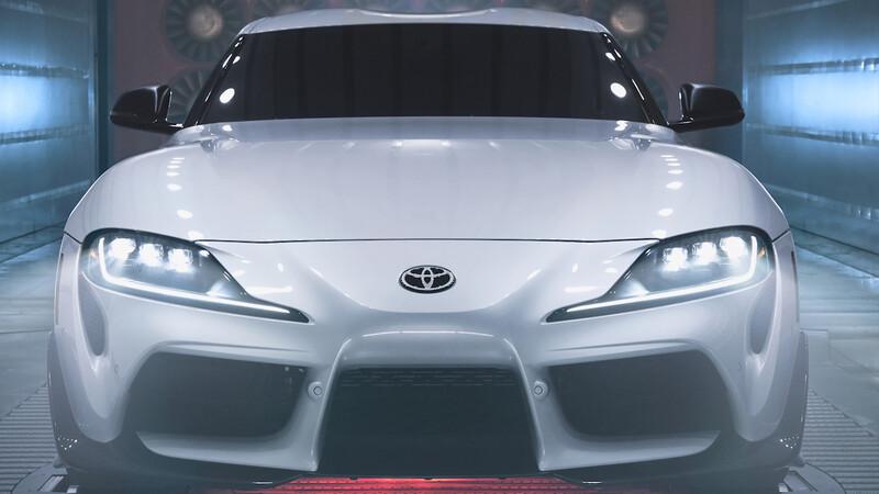 Toyota Supra A91-CF 2022: Más fibra para acelerarlo a fondo... pero solo en EEUU