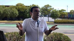 Carlos Ghosn protagoniza un nuevo juego para celular