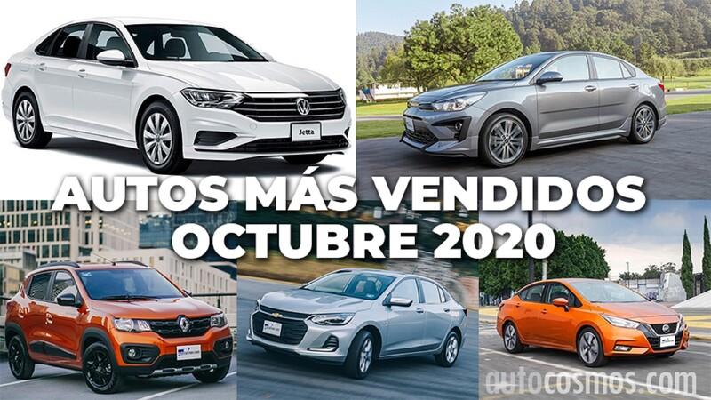Los 10 autos más vendidos en octubre 2020