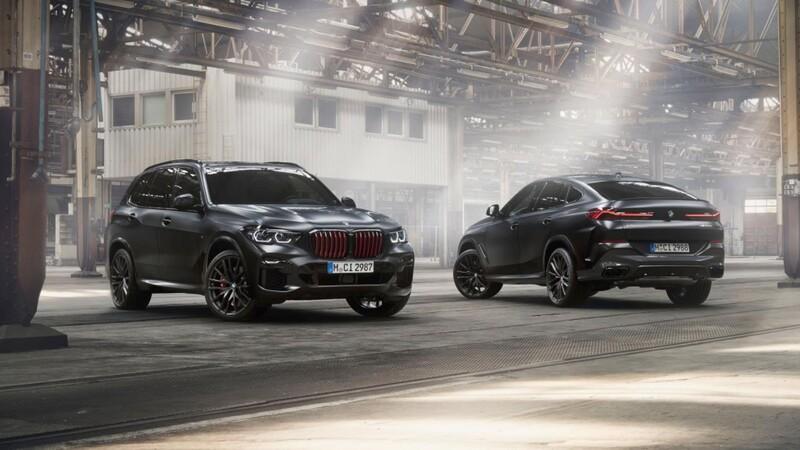 BMW X5 y X6 Black Vermilion, la elegante combinación del negro con rojo