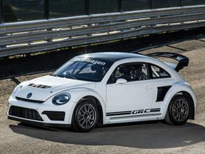 Volkswage Beetle GRC 2015 listo para el Global Rallycross Championship