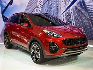 Kia Sportage recibe facelift en el Salón de Chicago 2019