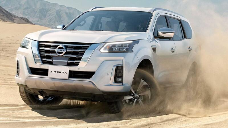 Nissan presenta la X-Terra, el SUV basado en la Navara
