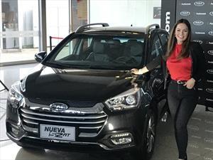 Lina Tejeiro es la nueva embajadora de JAC Motors