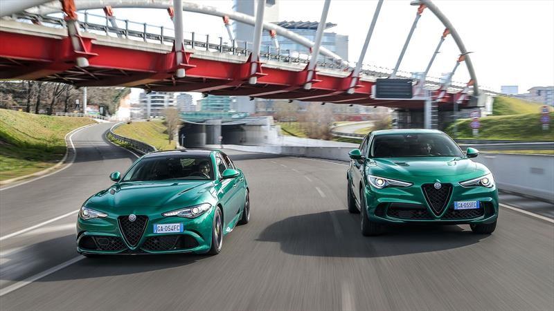 Alfa Romeo Giulia y Stlevio Quadrifoglio 2020, ligera actualización para los sexys italianos