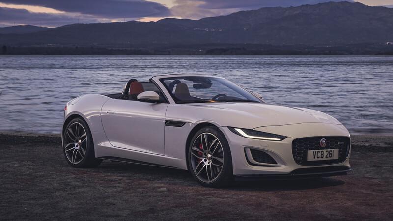 Jaguar F-Type 2021 se presenta