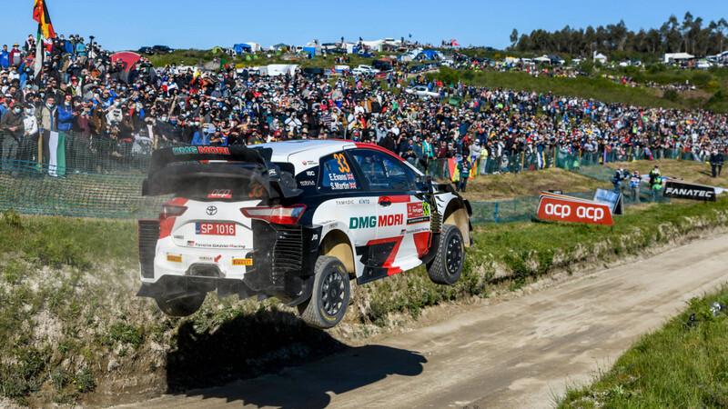 WRC 2021: Evans capitaliza las fallas de Hyundai