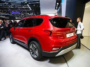 Esta es la cuarta generación de la Hyundai Santa Fe