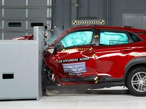 Hyundai Kona 2018 consigue el Top Safety Pick + del IIHS