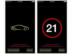 BMW EnLighten, app que avisa cuando cambia el semáforo