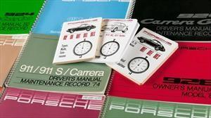 Porsche pone a la venta los manuales originales de sus autos clásicos