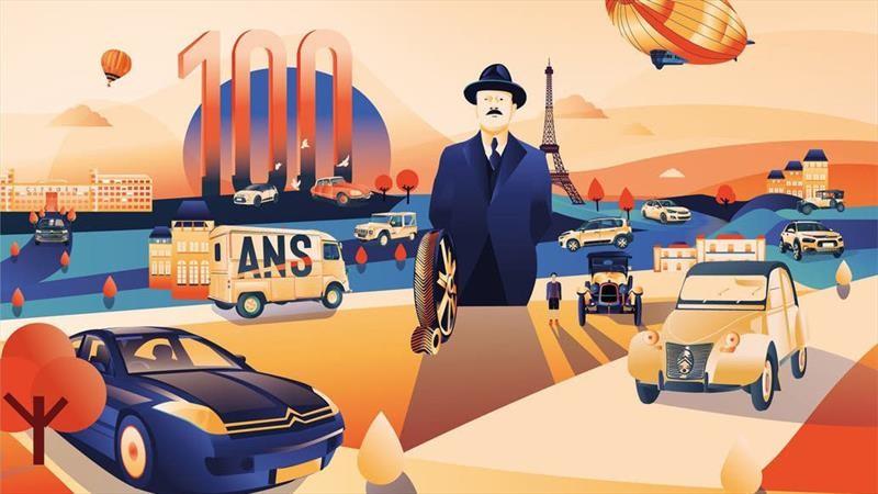 La campaña de Citroën Argentina por su centenario fue premiada a nivel mundial