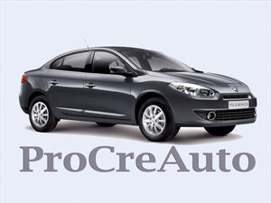 El Renault Fluence se suma a ProCreAuto