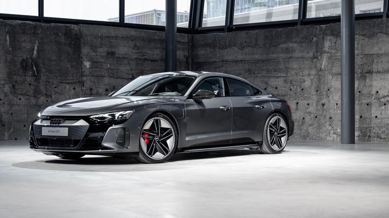 Audi e-tron GT: Llega el Taycan de los cuatro anillos