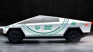La policía de Dubái tendrá en su flotilla de súper patrullas al Tesla Cybertruck