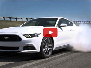Video: El nuevo Ford Mustang es el peor enemigo de los neumáticos