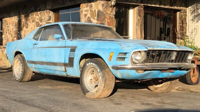 Ford Mustang Boss 302 de hace 50 años, a la venta en eBay