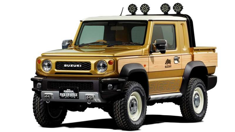 La demanda por los Suzuki Jimny pickup y cinco puertas es altísima, pero no existen