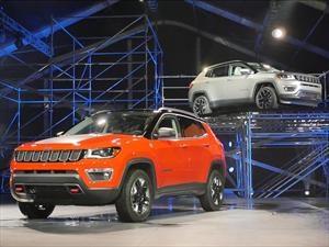 Jeep Compass inicia producción en México