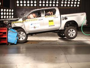 Nueva Toyota Hilux y Rav4 con excelentes resultados en las pruebas de LatinNCAP