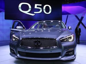 Infiniti Q50 2014, lujo nipón en Detroit