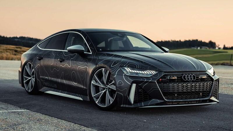 Audi RS 7 Sportback, 1.000 caballos de locura