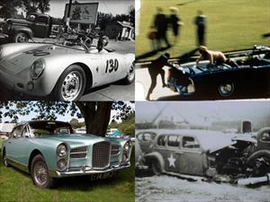 Top 10: Autos en los que fallecieron personajes famosos
