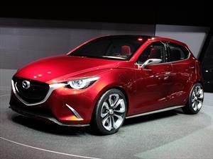 Mazda presenta al Hazumi Concept y anticipa al futuro Mazda2