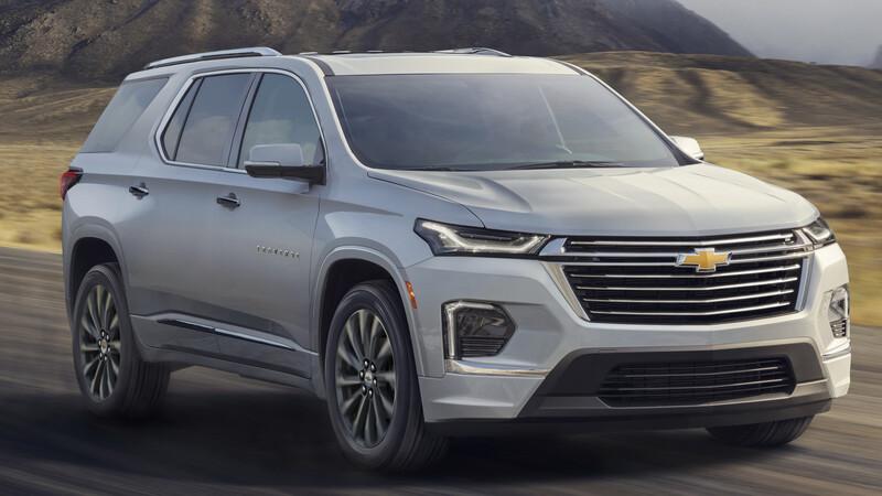 Chevrolet Traverse 2022, se renueva y llegará antes de que termine el año