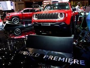 Ginebra: Jeep devela las variantes híbridas del Renegade y Compass