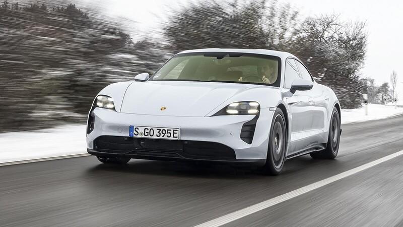 El Porsche Taycan de tracción trasera ya está disponible en Chile