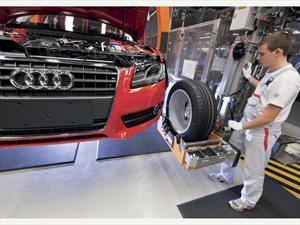 Audi vendió 13.7 por ciento más en mayo