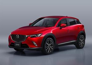 Mazda CX-3 2017 estrena versiones desde $298,900 pesos