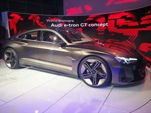 Audi e-Tron GT Concept: póker futurista