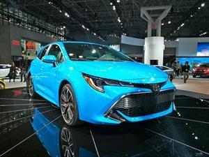 Toyota Corolla Hatchback 2019 es un Auris americanizado