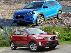 Los nuevos Hyundai Tucson y Creta se anticipan en Expoagro 2016.