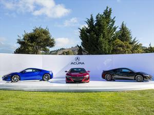 Acura NSX 2016 presente en Pebble Beach 2015