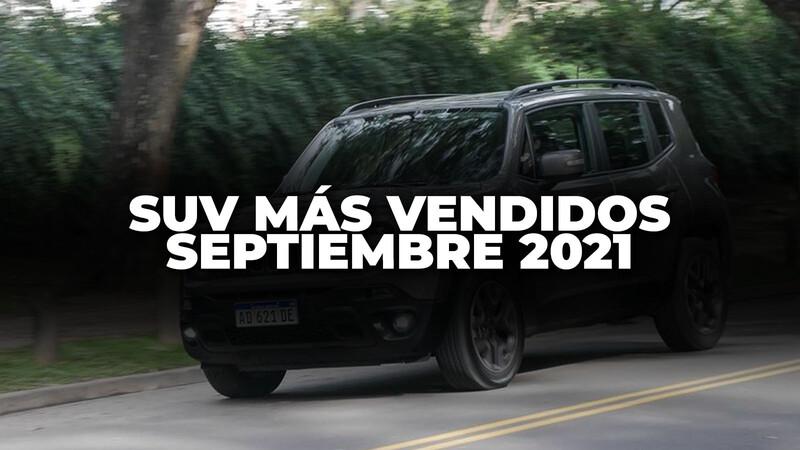 Los SUV más vendidos de Argentina en septiembre de 2021