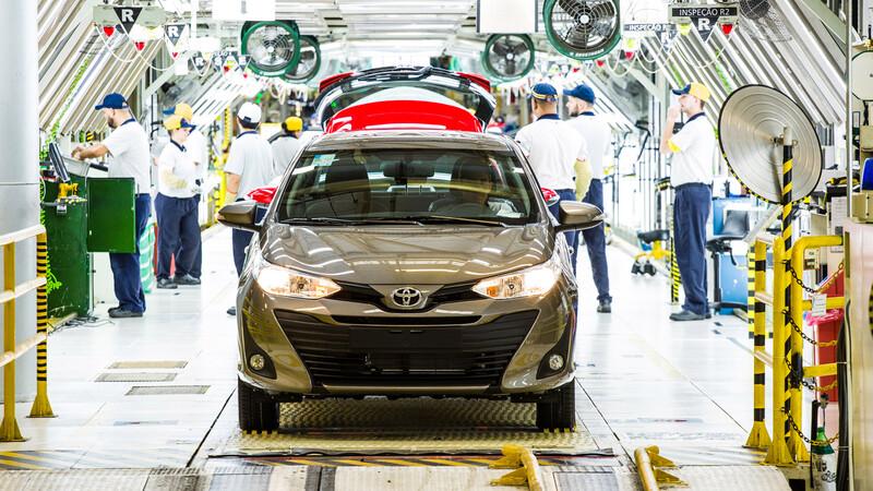 Toyota suspende la producción del Corolla Cross, Yaris y Etios por falta de componentes