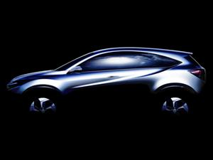 Honda presentará la Urban SUV Concept, su propuesta para competir con la EcoSport