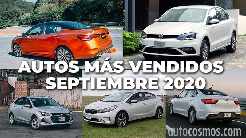 Los 10 autos más vendidos en septiembre 2020