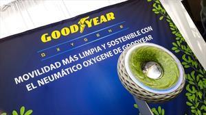Goodyear presenta en Chile su prototipo de neumático ecológico