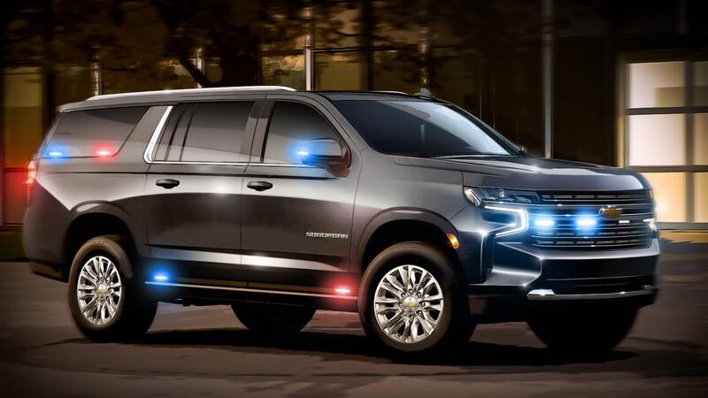 Chevrolet alista Suburbans Heavy-Duty blindadas para el gobierno de Estados Unidos