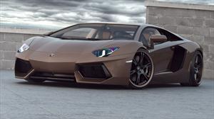 Lamborghini Aventador Chocolate por Wheelsandmore