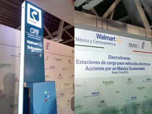 México tiene cuatro electrolineras públicas