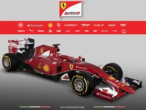 Ferrari SF15-T, el auto de Vettel y Raikkonen en 2015