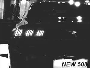 Se filtra la primera imagen del nuevo Peugeot 508